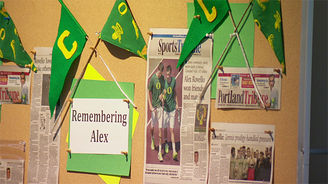 Alex Rovello memorial