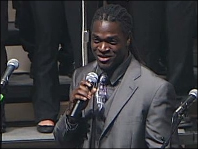 Blast from the Past: Andiel Brown Singing the Gospel