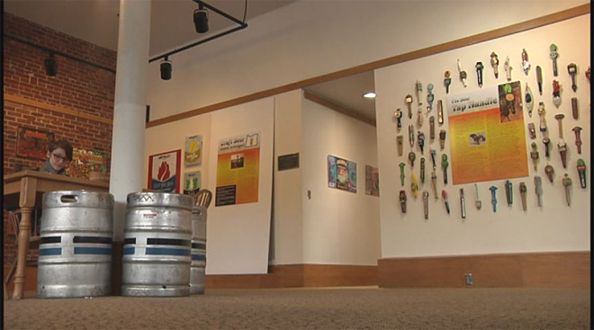Museum brews up exhibit of craft beer labels and tap handles