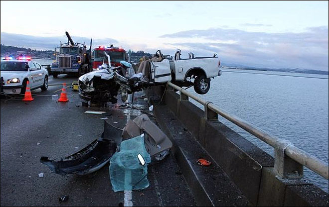 Astoria Bridge Crash