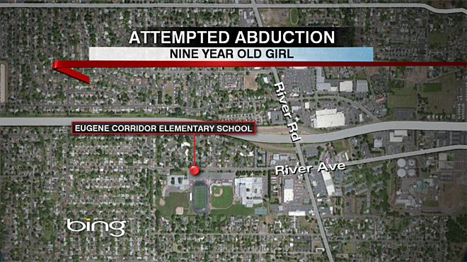 Attempted abduction at Corridor Elementary in Eugene