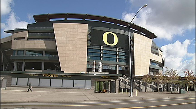 Autzen Stadium and hearing damage risk