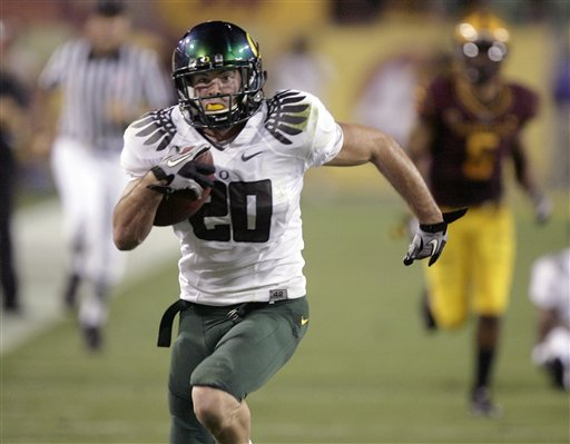 AP Top 25: Ducks leap Horned Frogs, Beavs fall out