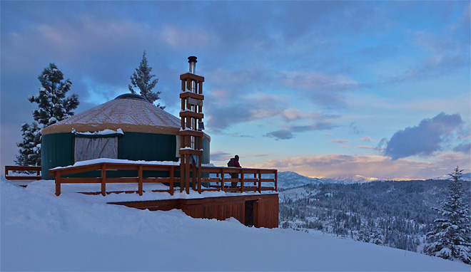 Outdoors Backcountry Yurts