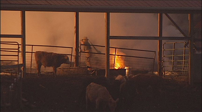 Barn fire does $80K in damage