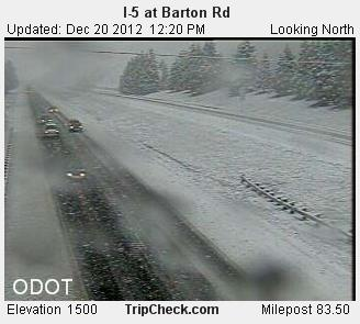 I-5 at Barton Road