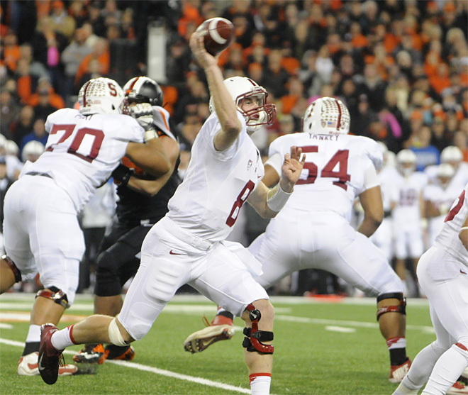 Stanford Oregon State Football
