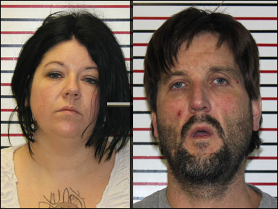 Couple busted after leaving meth as tip