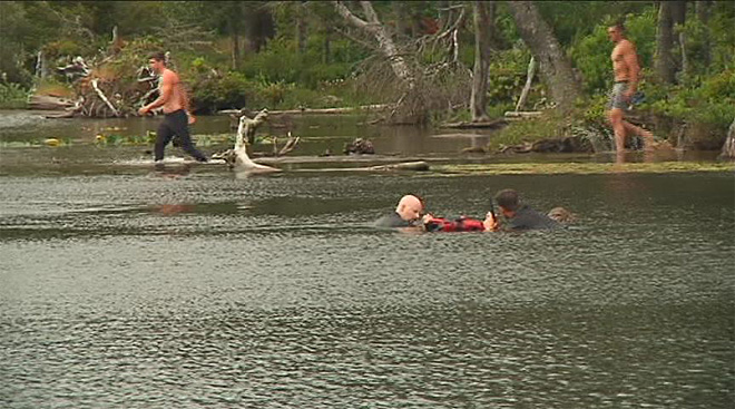 Boy drowns in lake (2)