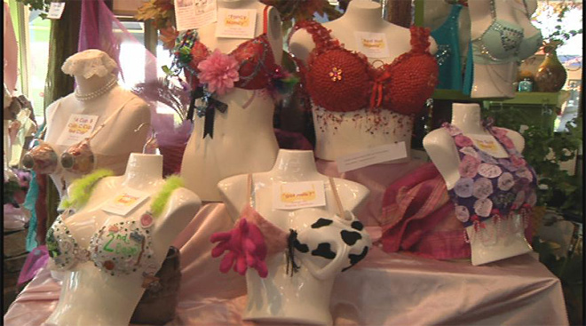 Bras for a Cure voting runs through October 31