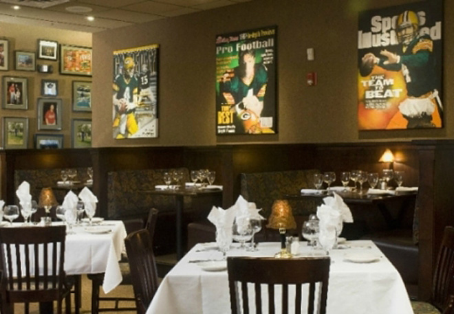 Brett Favre's Steakhouse in Green Bay, Wisconsin