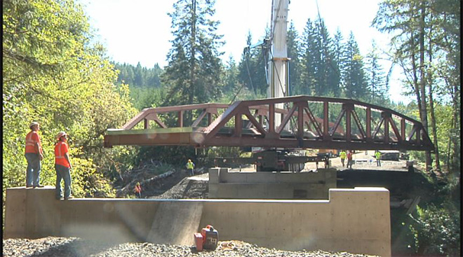 Bridge damaged by flood replaced (11)
