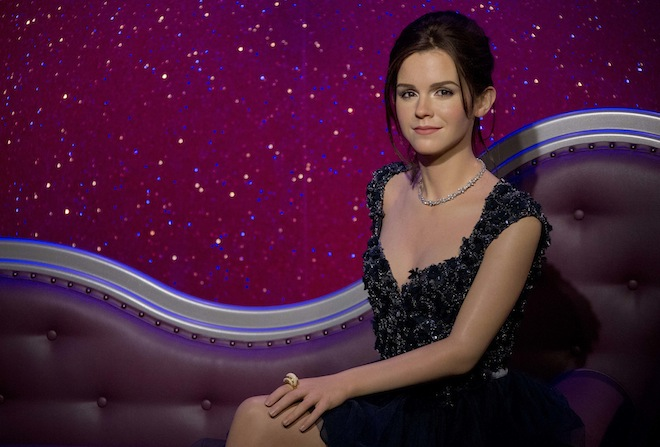 Photos: Creepy or cool? Emma Watson's new wax figure