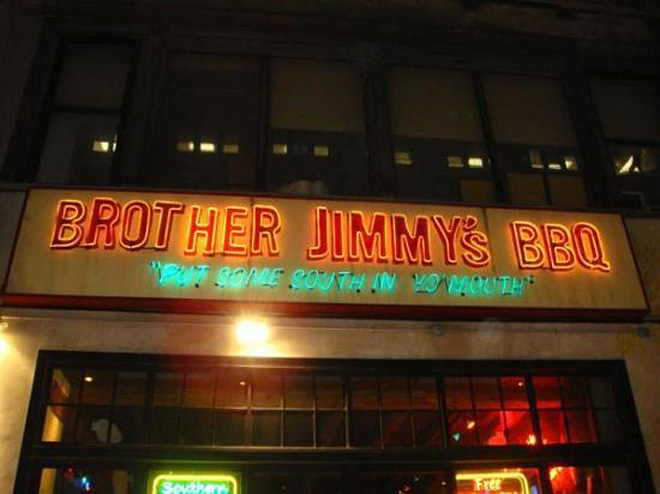 Brother Jimmy's Second Ave in New York City, New York
