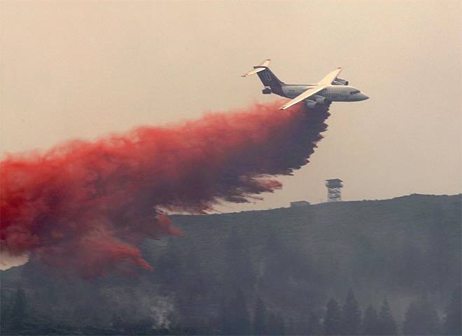 Firefighters gain upper hand on wildfire near Klamath Falls