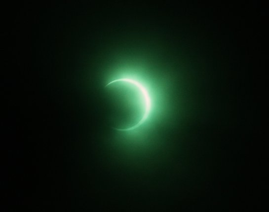 BuddyMckinley photo of eclipse from North Bend