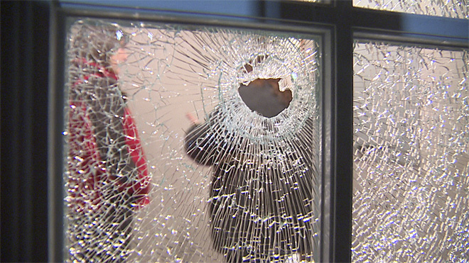Bullet rips through home: 'It could have killed somebody'