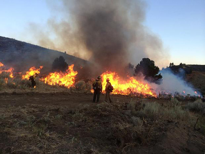Fire crews make gains on large fires, but more lightning looms