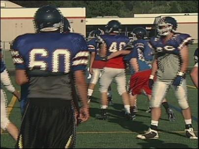 Churchill Lancers enter '12 football season