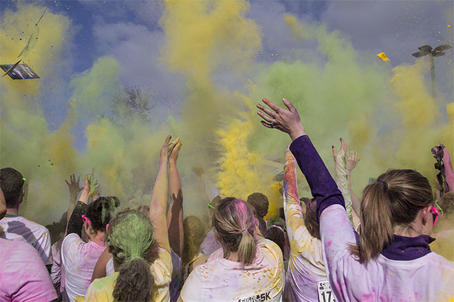 Color Me Rad 5k: 'It's not too difficult to get people to run in Oregon'
