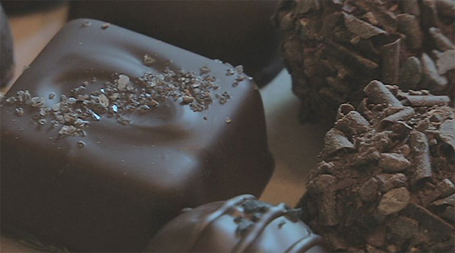 Woman mixes Brazil, Oregon into her chocolate creations