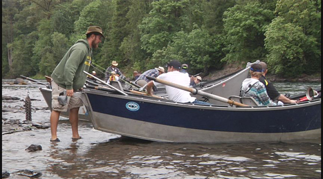 Cancer survivors take fishing trip on the McKenzie  10
