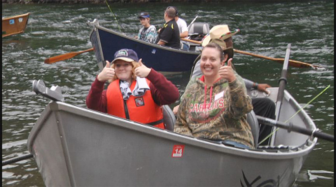 Cancer survivors take fishing trip on the McKenzie  11