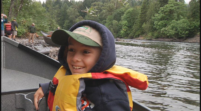 Cancer survivors take fishing trip on the McKenzie  12