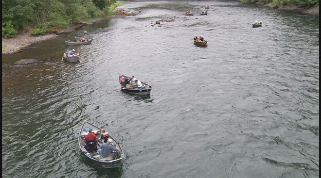 Cancer survivors take fishing trip on the McKenzie