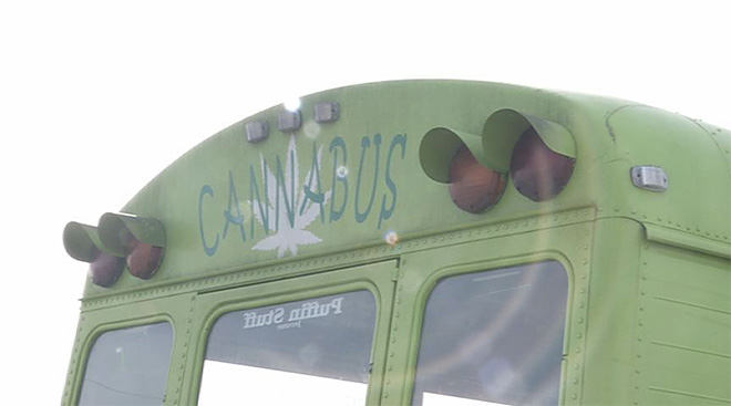 Cannabus stopped by Coburg Police