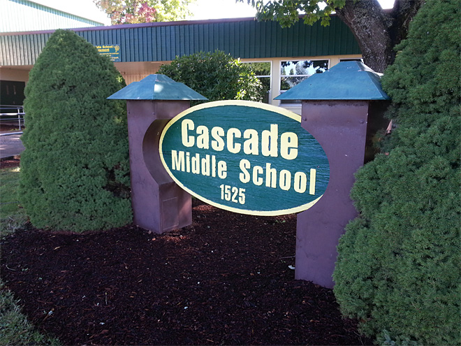 Cascade Middle School in Bethel district