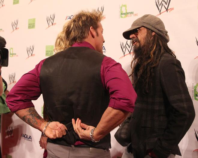 Chris Jericho and Rob Zombie