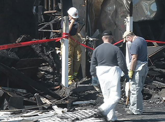 Fire Marshal: 'Trying to determine whether fire was intentional or accidental'