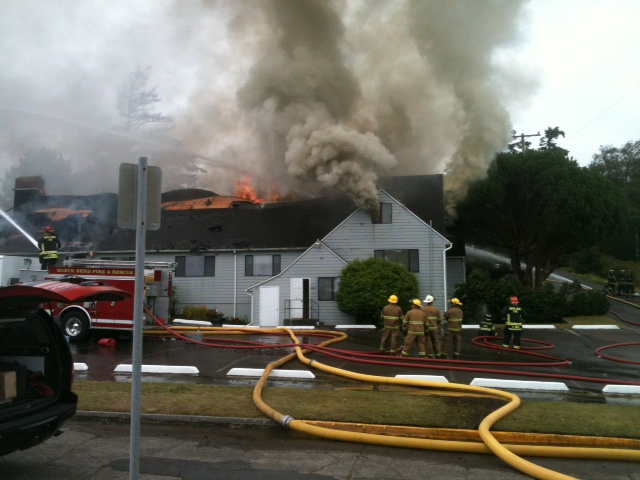 Church fire in North Bend August 7