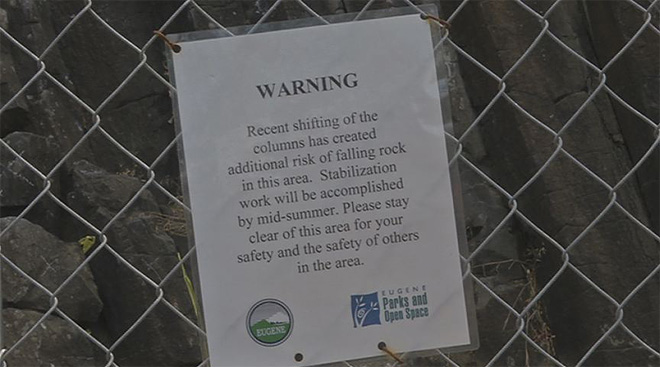 City working to repair Columns at Skinner Butte (4)