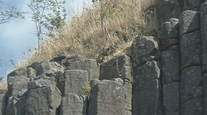 City working to repair Columns at Skinner Butte