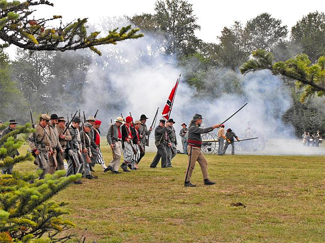 Civil War Reenactment 03 - Photo by Mike Wagner