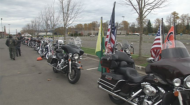 Civil War Tribute to Fallen Soldiers Ride 1