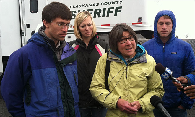 Missing Mount Hood climber's family: 'He knows how to survive'