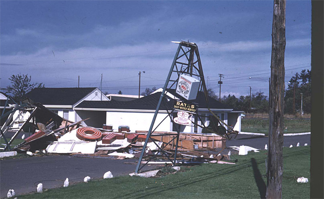 1962 Columbus Day Storm in western Washington
