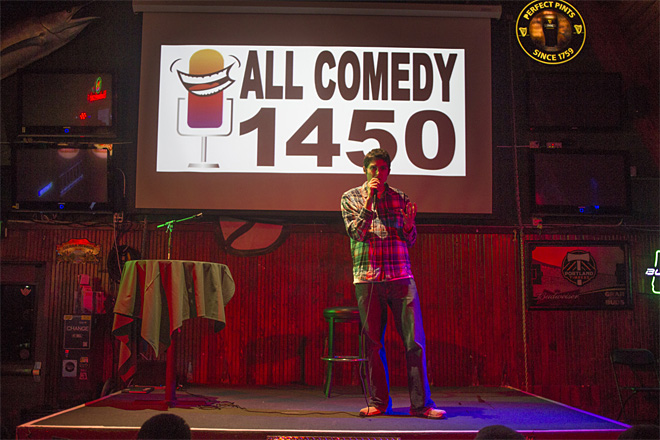 No joke: Comedy series serious about stand-up