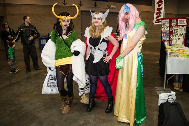 Wizard World: Portland Comic Con 2013 - Day 1