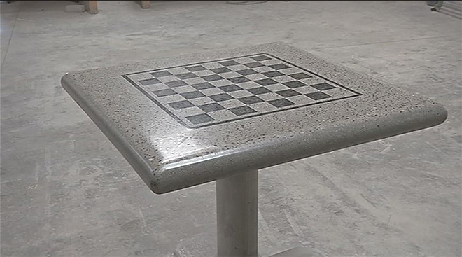 Concrete Table Tennis tables (8)