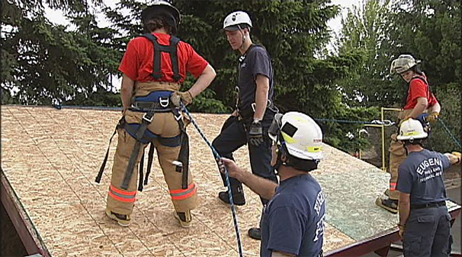 Confidence and Leadership Fire Camp hosted by Eugene and Springfield Fire Departments - 10