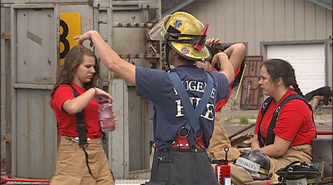 Confidence and Leadership Fire Camp hosted by Eugene and Springfield Fire Departments - 14