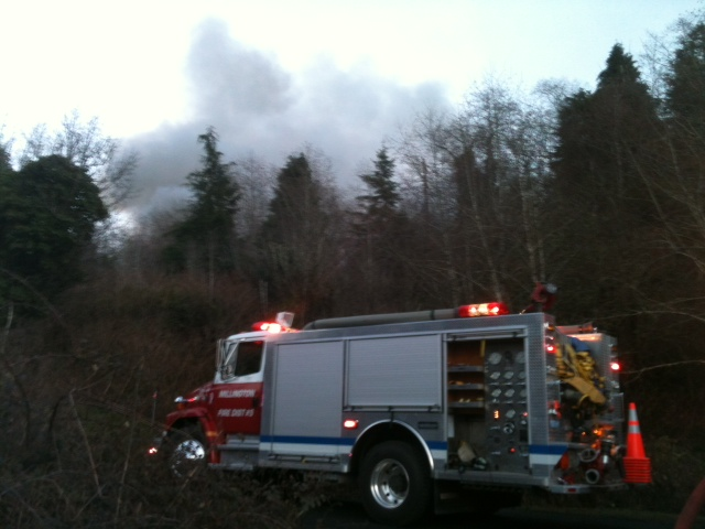 Coos Bay fire