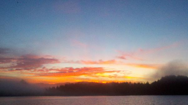 Coos Bay sunrise by chdell