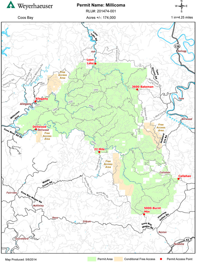 Rec permits for Weyerhaeuser land go on sale Wednesday