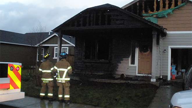 Cottage Grove house fire December 17