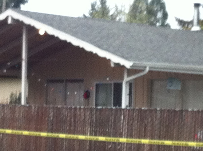 Cottage Grove investigation scene